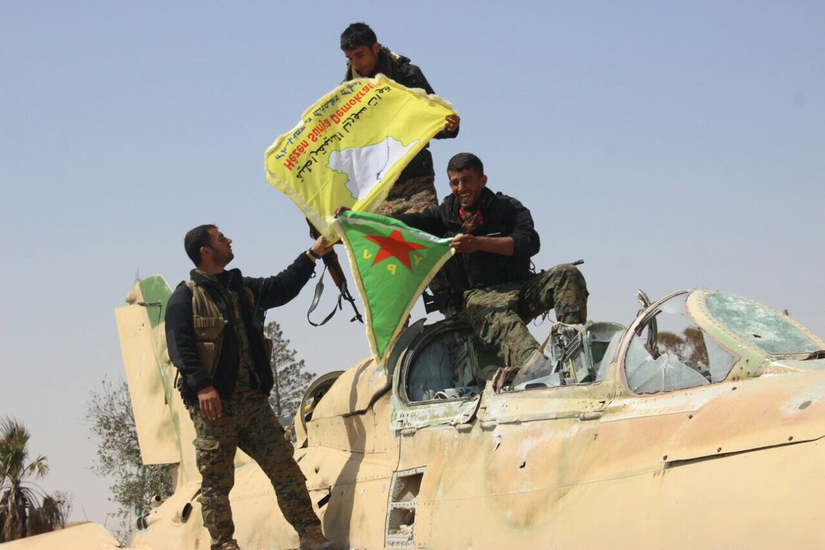 US-backed SDF Controls Over 70% Of Tabqa Town
