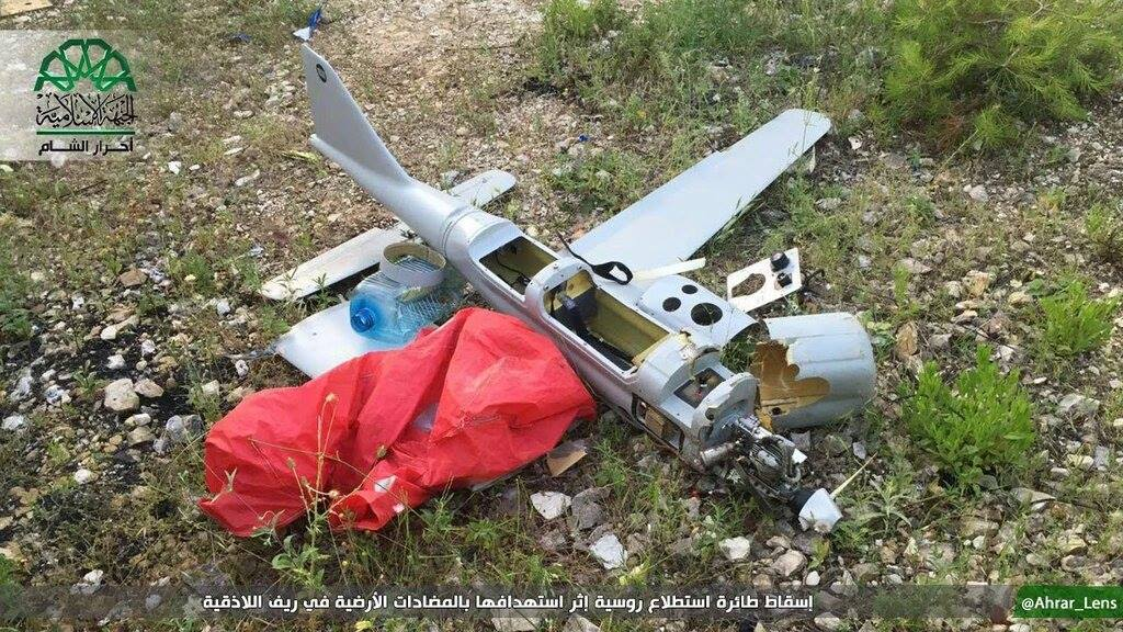 Russian UAVs in Syria - Analysis