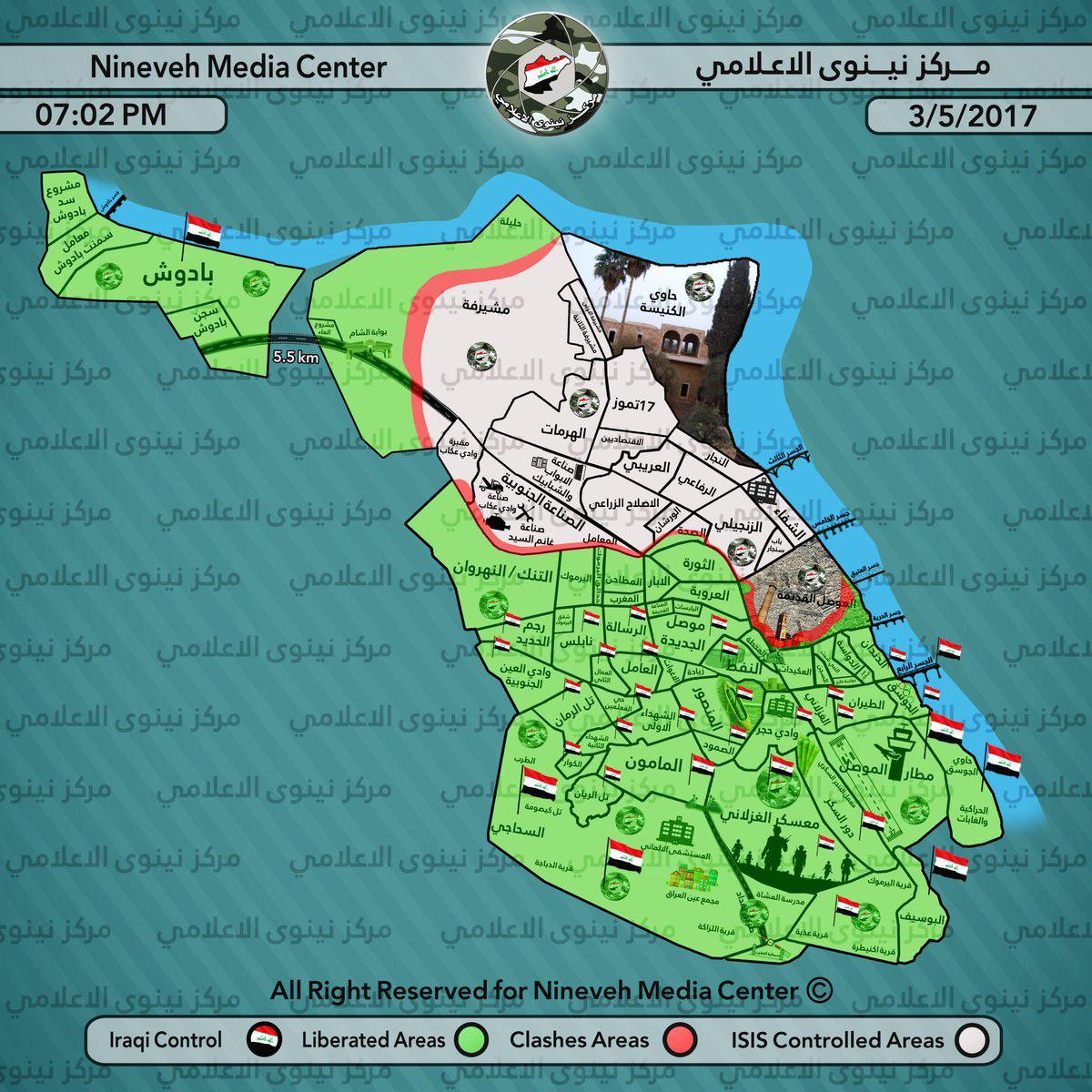Iraqi Army Preparing Operation To Outflank Further ISIS-held Area In Mosul