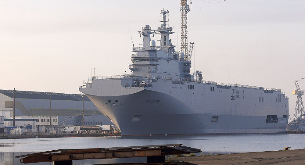 Egyptian Navy And Its Mistral-Class Amphibious Assault Ships