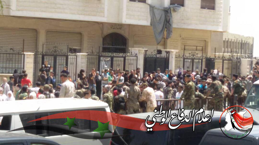 Militants Evacuating From Qaboun and Barzeh Areas In Eastern Damascus (Photos)