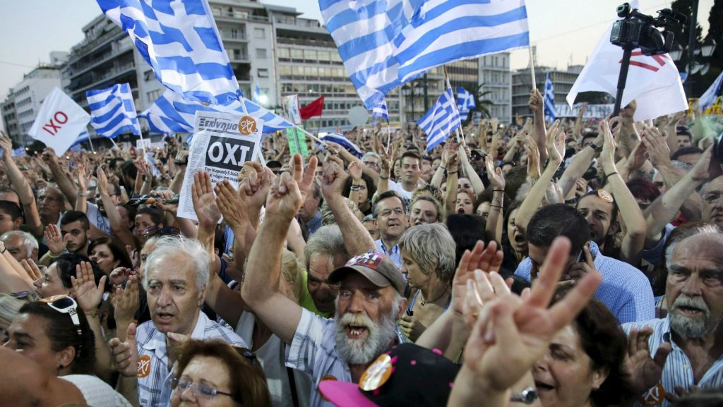 """Greece is Committing """"Financial Suicide"""""""
