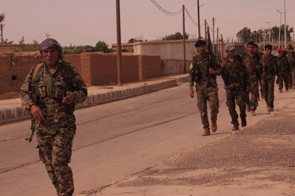 Syrian Democratic Forces Captured Northern Part Of Ba'ath Dam (Photos)