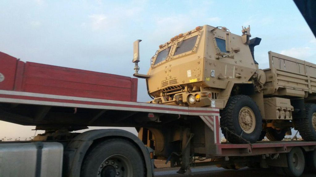 US Supplies More Weapons And Equipment To Support SDF Operations In Syria (Photos, Videos)