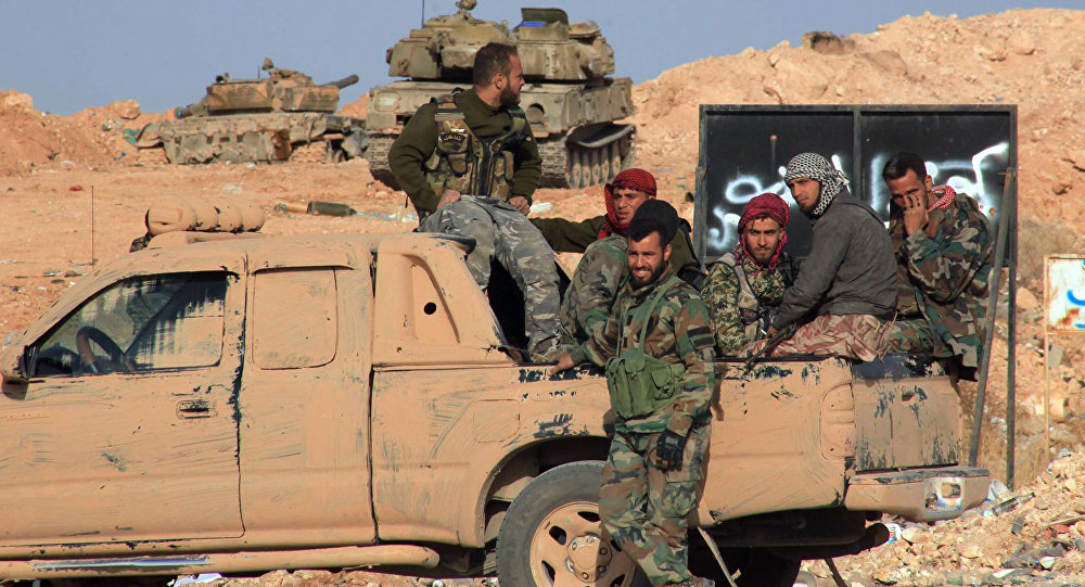 Syrian Army Recaptures More Areas From Militants Near al-Seen Military Airbase