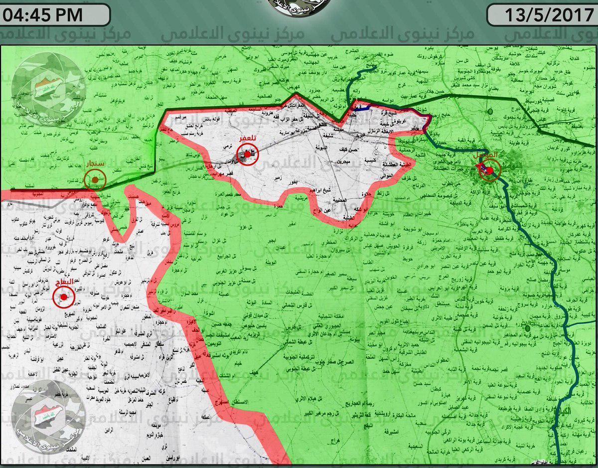 Popular Mobilization Units To Advance On Syria-Iraqi Border