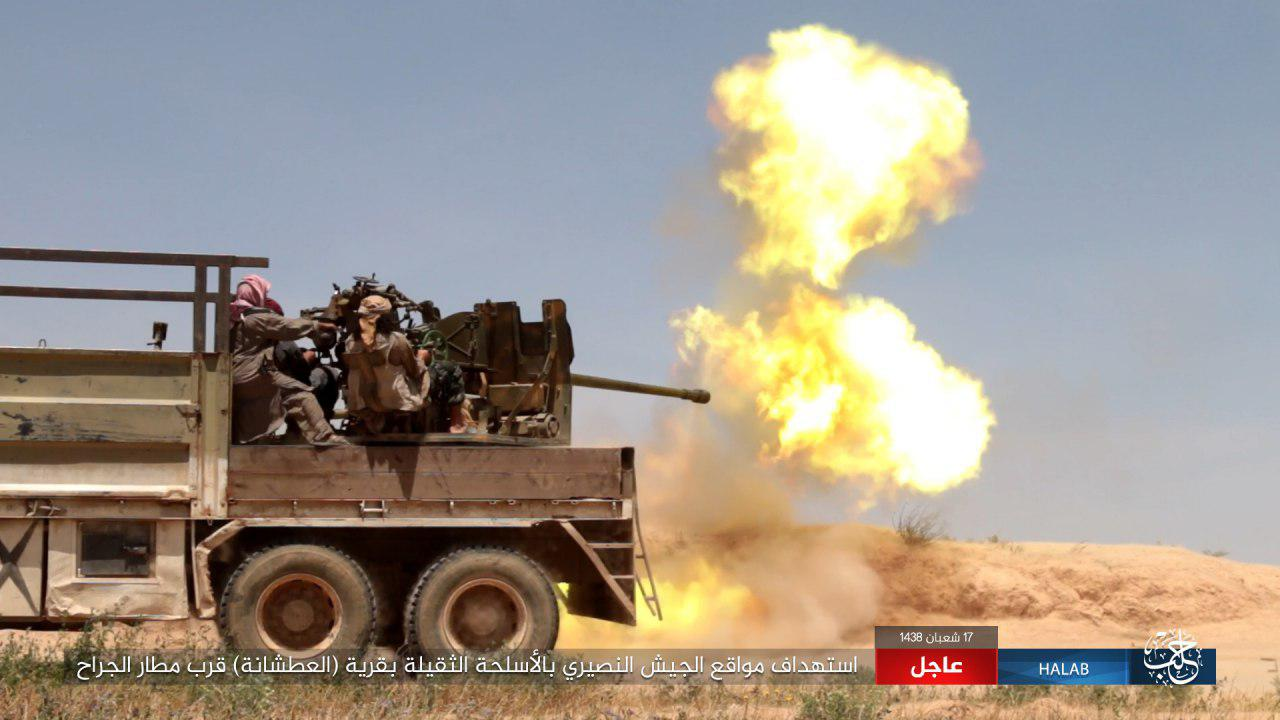 ISIS Losing More Points In Area South Of Jirah Airbase