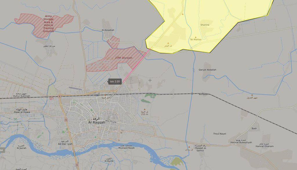 Syrian Democratic Forces Seized Three Villages In Northern Raqqa Countryside
