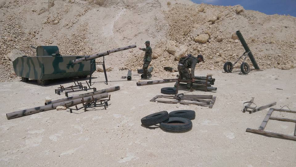 Government Forces Seized Large Number Of Arms And Equipment From ISIS (Photos, Videos)