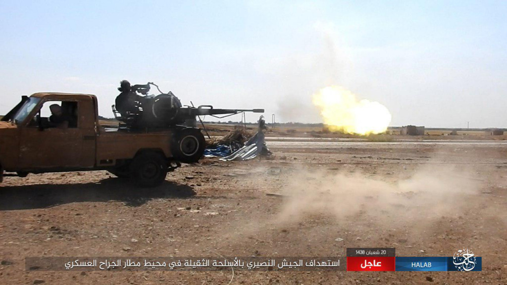 Intense Clashes In Eastern Aleppo As Syrian Army Advancing To Raqqah Province