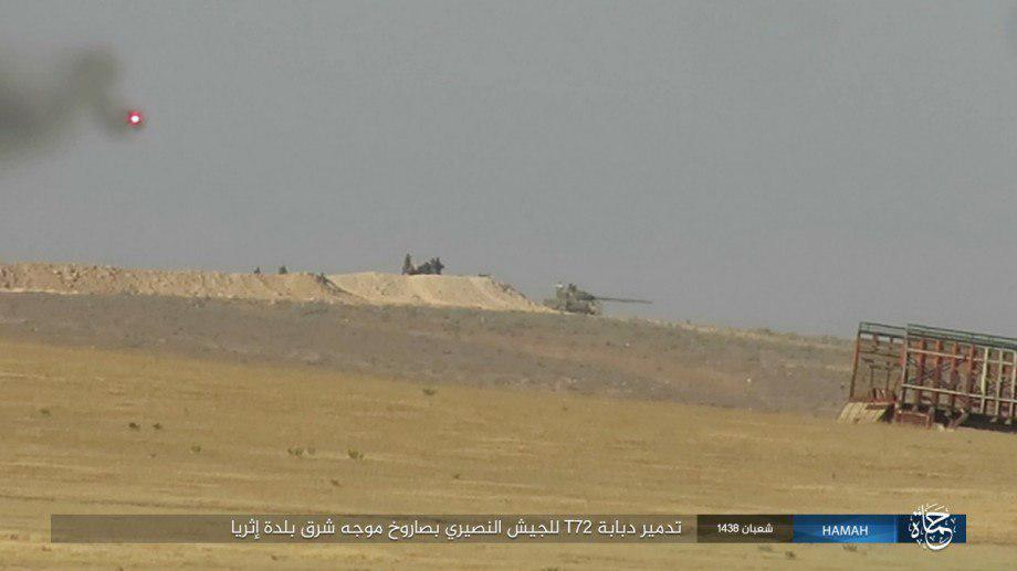 Syrian Army Clashing With ISIS Terrorists In Palmyra Countryside (Photos)