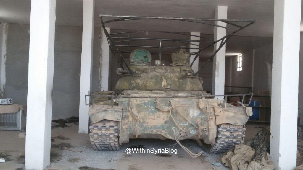 """ISIS tanks from the """"Workshop"""" to the """"Farm"""" - Big Photo Report"""