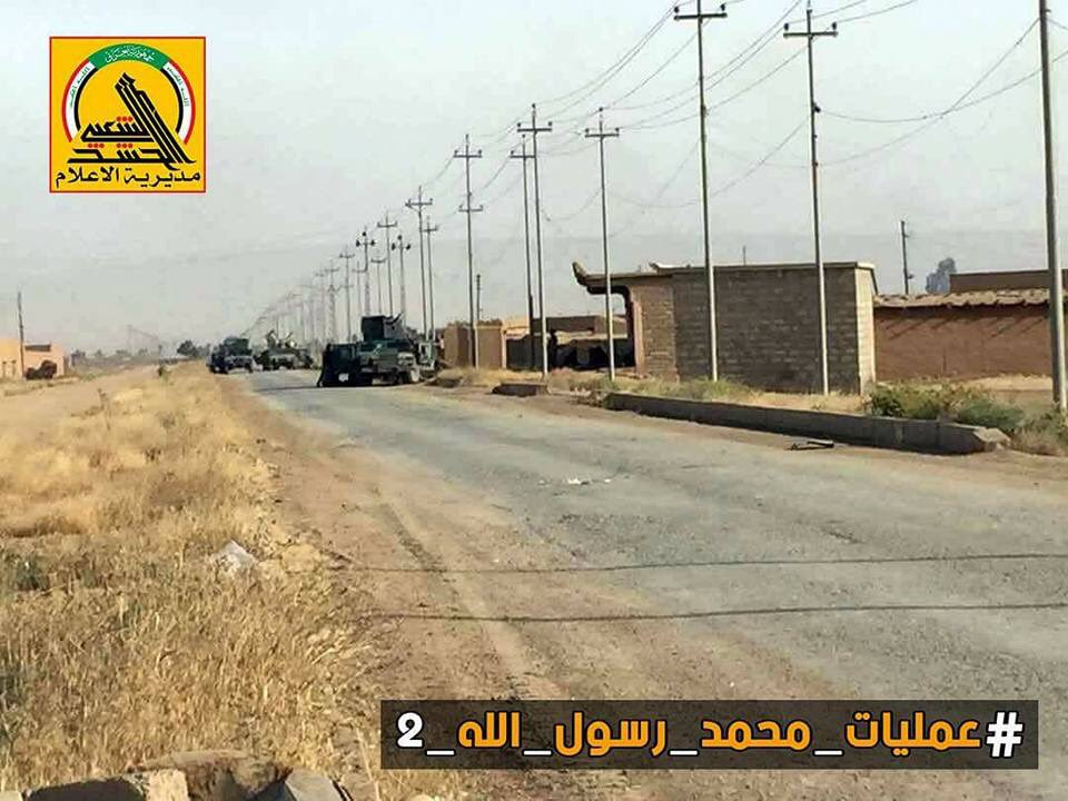 Iraqi PMU Liberated Strategic Town Of Qairawan From ISIS Terrorists - Photo Report
