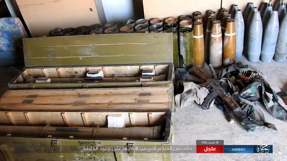 ISIS Raids Government Supply Line To Aleppo City, Captures Weapons From Government Forces