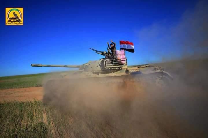 Iraqi Popular Mobilization Units Liberated 8 Villages Near ISIS-held Town Of Qayrawan