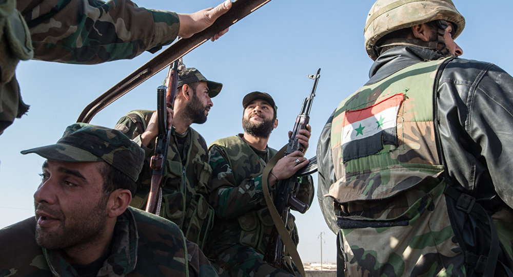 Government Forces Gain More Area From ISIS North Of ash-Shaer Gas Field
