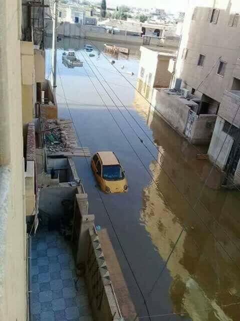 Vicinity Of Raqqah Is Flooded With Water From Tabqah Dam (Videos, Photos)