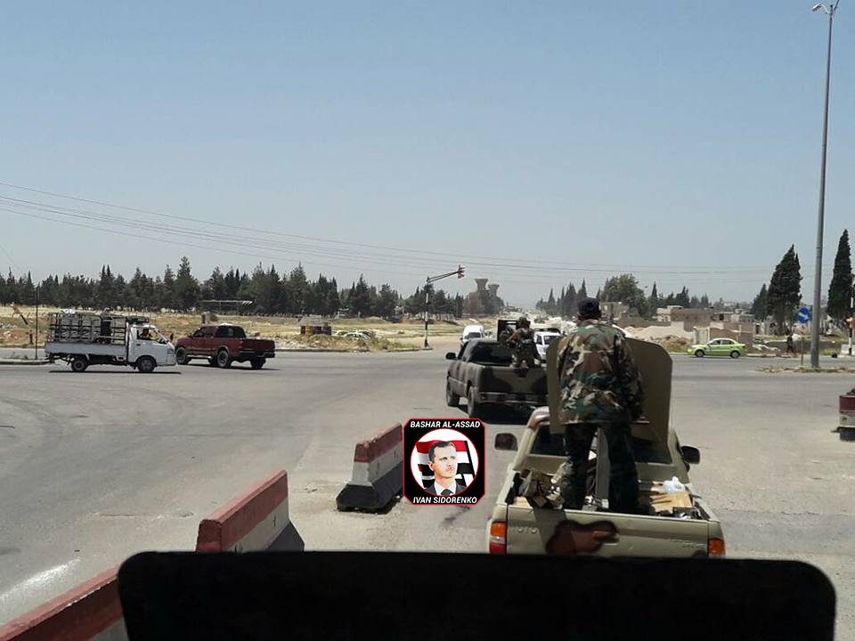 Syrian Military Deploying More Troops, Techincals Equipped With Machine Guns For Advance In Syrian Desert (Photos)
