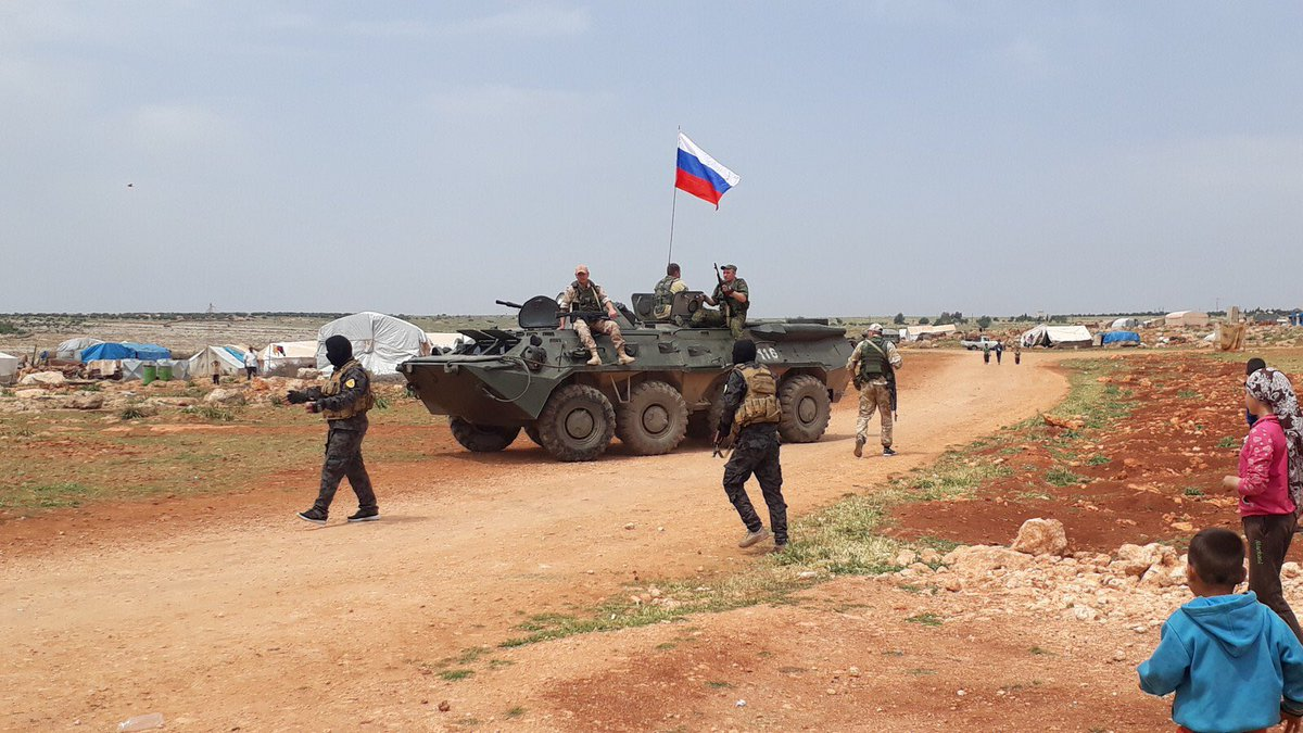 Russian Military Servicemen Visited Rubar Refugee Camp Recently Shelled By Turkey (Photos)