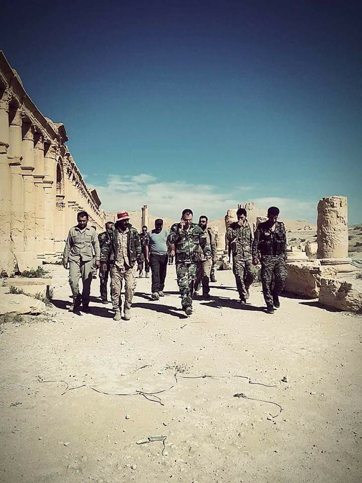 Liwa al-Quds Fighters In Palmyra Countryside - Photo Report