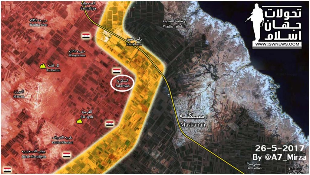 Tiger Forces Increase Pressure On ISIS Stronghold Of Maskana, Liberate Al-Sukariya