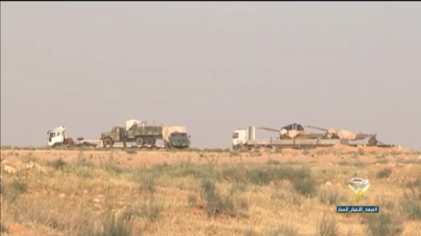 Syrian Army Captures Al-Muhaded Hills On Tanf Road (Videos)
