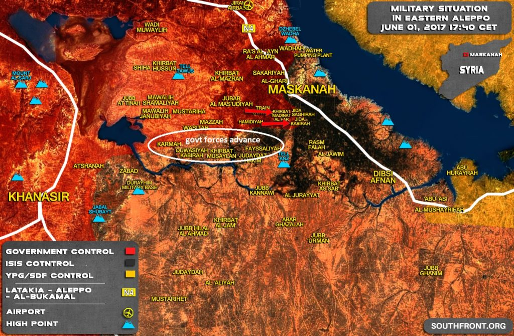 ISIS Terrorists Retreating From Maskanah Plain - Reports