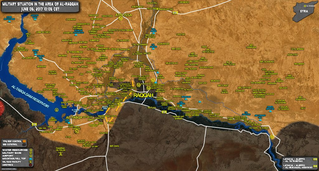 US-backed Forces Capture 4 Villages From ISIS, Encircle 4 More Near Raqqah
