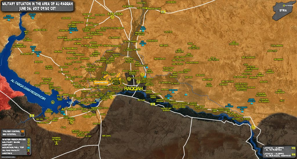 US-Backed SDF Announces Start Of Operation To Capture Raqqa City From ISIS