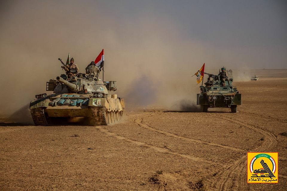 Iraqi Popular Mobilization Units Advance South Of ISIS Border Stronghold Of Al-Ba'aj