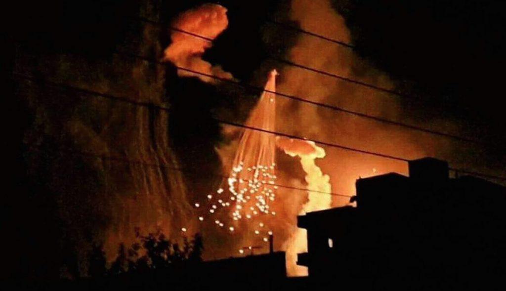 Video: US-led Coalition Bombing City Of Raqqa