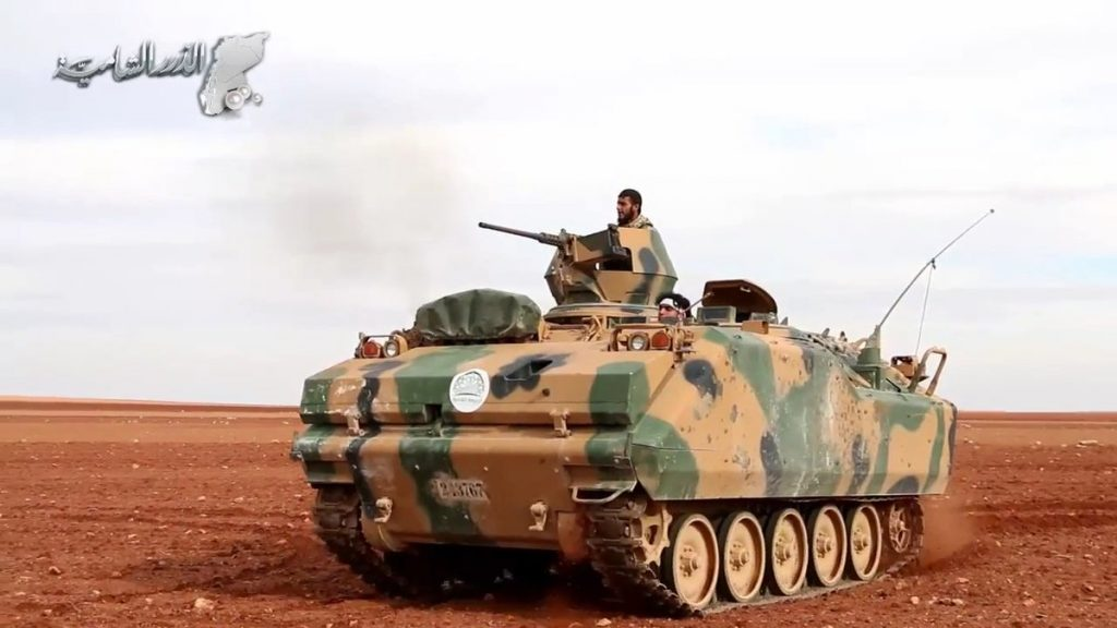 Fierence Infighting Among Pro-Turkey Militant Groups In Al-Bab In Northern Syria. At Least 15 Militats Killed
