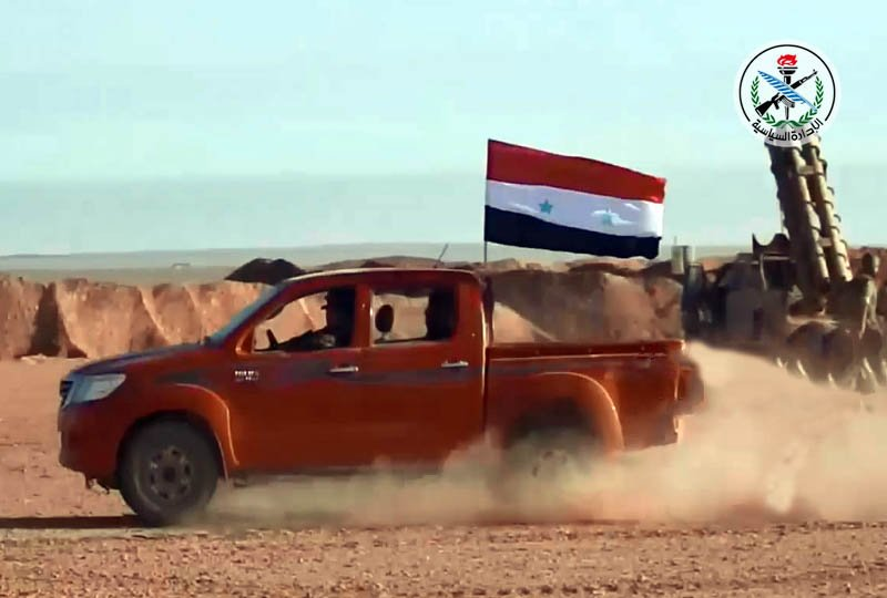 Army Liberated 100 km2 In Countryside Of Palmyra - Syrian Ministry Of Defense
