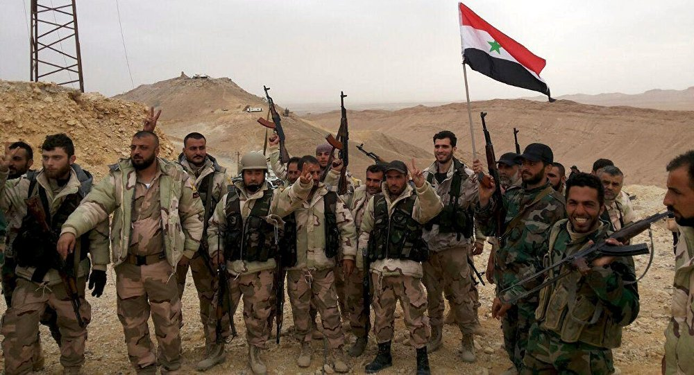 Syrian Army Liberates Bir Badieah Area South Of Palmyra