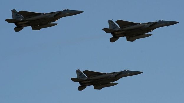 Qatar Tries To Obtain White House Support, Signs $12bn Contract To Buy F-15 Fighter Jets From U.S.