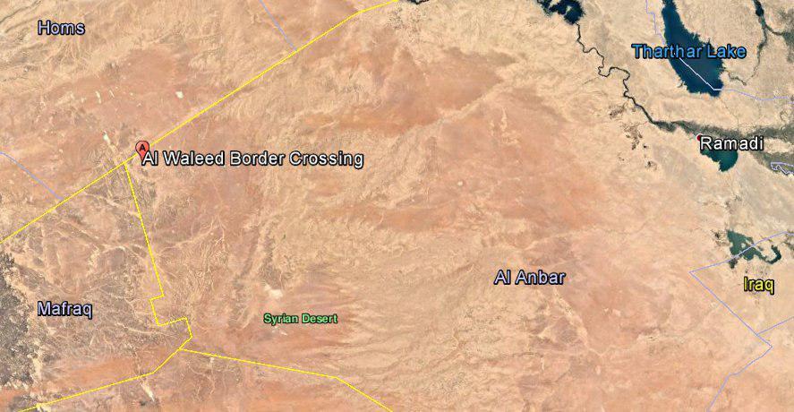 Iraqi Army Controls Al-Walid Border Crossing On The Syrian-Iraqi Border