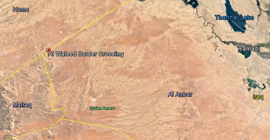 Iraqi Army Controls Al-Walid Border Crossing On The Syrian-Iraqi Border