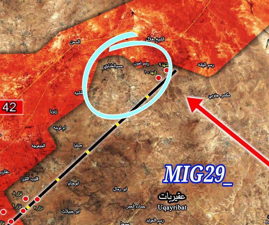 Syrian Army In Outskirts Of Strategic Resafa Town (Video, Map)