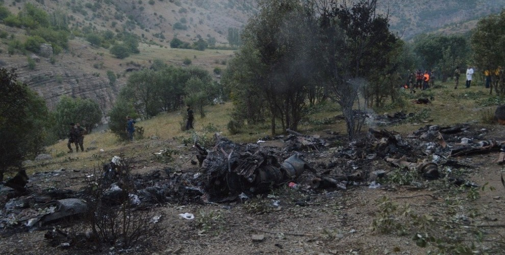 PKK Claims Downing Of Turkish Military Helicopter In Turkish Sirnak Province