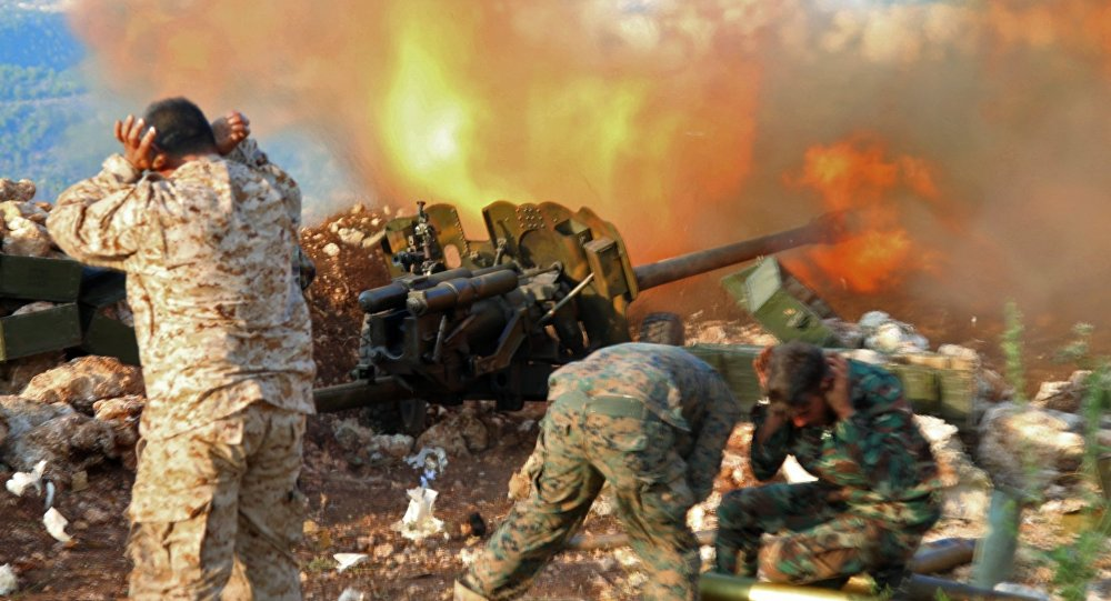 Government Forces Launch Operation In Attempt To Split Daraa Pocket