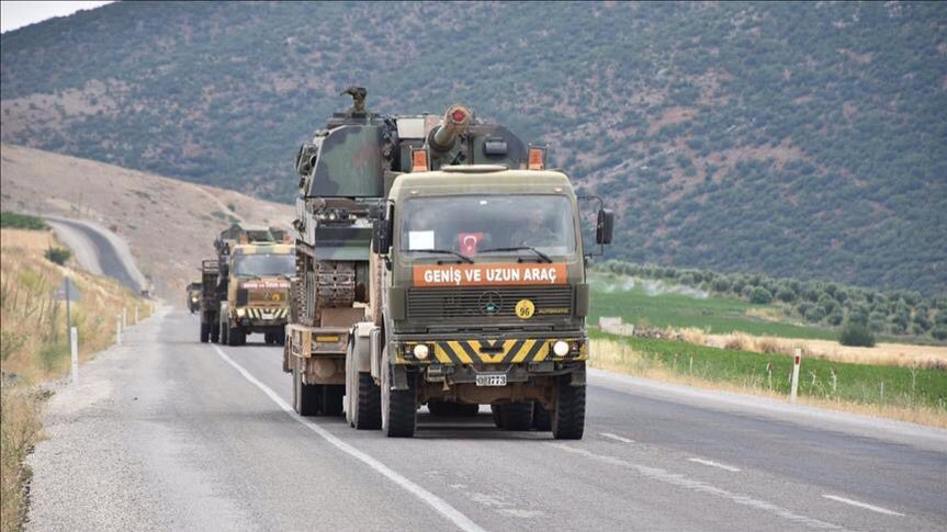 Turkey Deploying Howitzers And Vehicles To Northern Syria For Alleged Attack On Kurdish-held Afrin Area (Video, Photos)