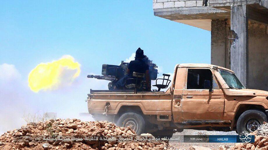 Syrian Army Encircled Strategic ISIS-held Town Of Maskanah
