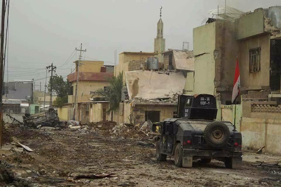 Iraqi Army Advances In Old Mosul