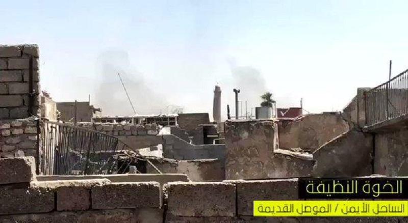 ISIS Blew Up Al-Nuri Kabir Mosque In Old Mosul Where Baghdadi Proclaimed 'Caliphate' In 2014