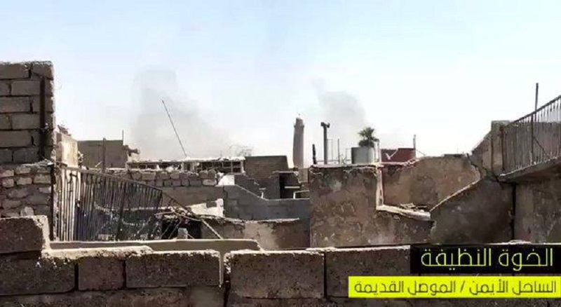 ISIS Blew Up Al-Nuri Kabir Mosque In Old Mosul Where Baghdadi Proclaimed 'Caliphate' In 2014
