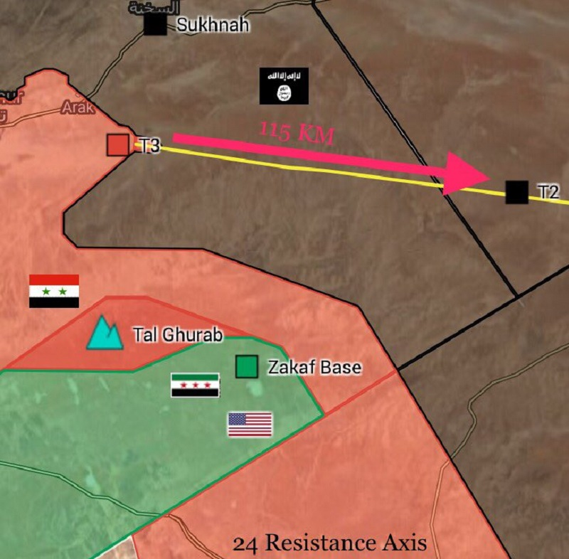 Government Forces Liberate More Points Around Palmyra, Icrease Pressure On US-backed Militants And ISIS
