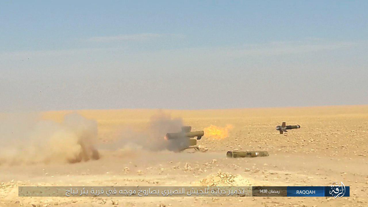 Government Forces Advancing Against ISIS At Ithriyah-Resafa Road