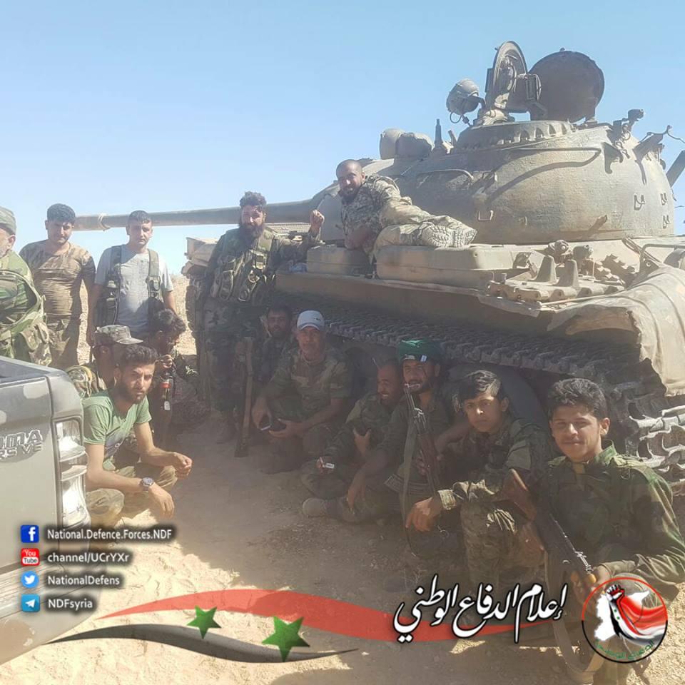 Government Forces Capture Tal Al-Abjar East Of Khanasir - NDF