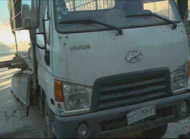 Photos: Syrian Security Forces Seized Truck With Munition For Militants In Eastern Ghouta