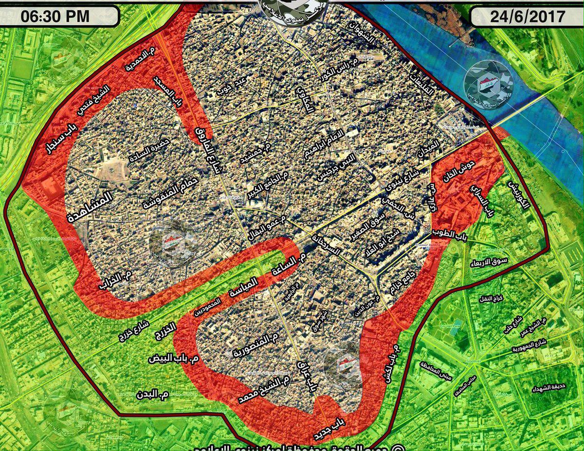 Iraqi Army Liberates Mar Toma Church Area From ISIS In Mosul